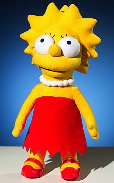 Lisa Simpson 12-inch Plush