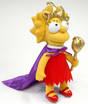 Lil Miss Springfield Lisa Episode Plush Doll