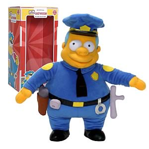 Chief Wiggum Plush Doll