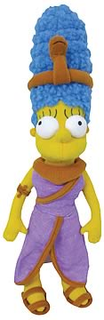 Marge Simpson as Cleopatra Plush