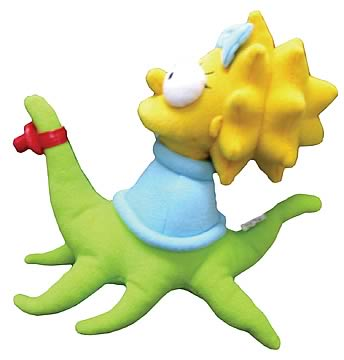 Maggie Simpson as Alien Plush