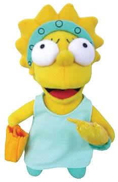 Lisa Simpson Statue of Liberty Plush