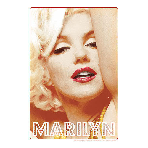 Marilyn Monroe Glamour Tin Sign