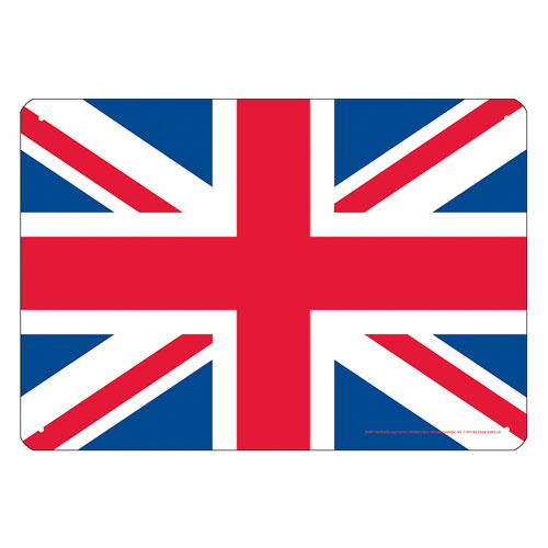 Union Jack Flag Tin Sign