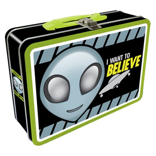 Alien Believe Regular Fun Box Tin Tote