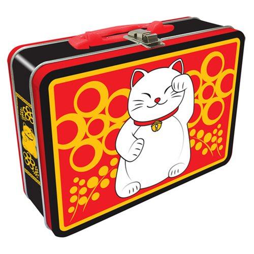 Lucky Cat Regular Fun Box Tin Tote