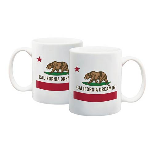 California Dreamin 12 oz Ceramic Mug