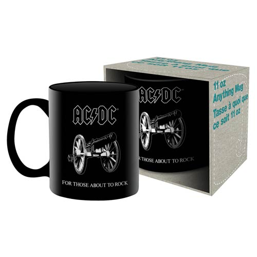 AC/DC About to Rock Boxed Mug