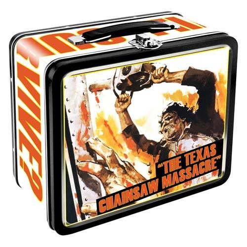 Texas Chainsaw Massacre Large Fun Box Tin Tote