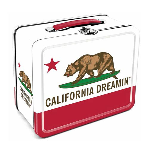 California Dreamin' Tin Lunch Box