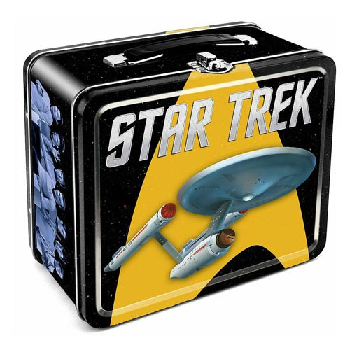 Star Trek Tin Lunch Box