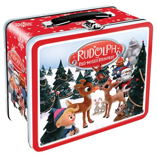Rudolph the Red-Nosed Reindeer Fun Box Tin Tote
