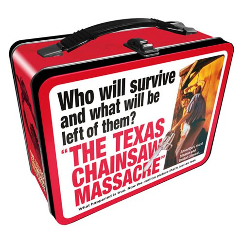 Texas Chainsaw Massacre Gen 2 Fun Box Tin Tote