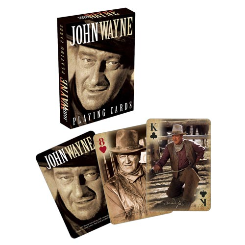 John_Wayne_Playing_Cards