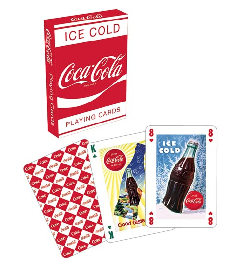 Coca-Cola Red Playing Cards