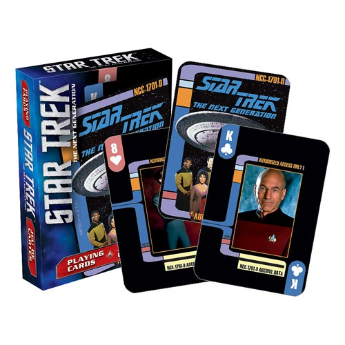Star Trek The Next Generation Playing Cards