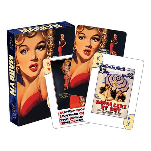 Marilyn Monroe One Sheets Playing Cards