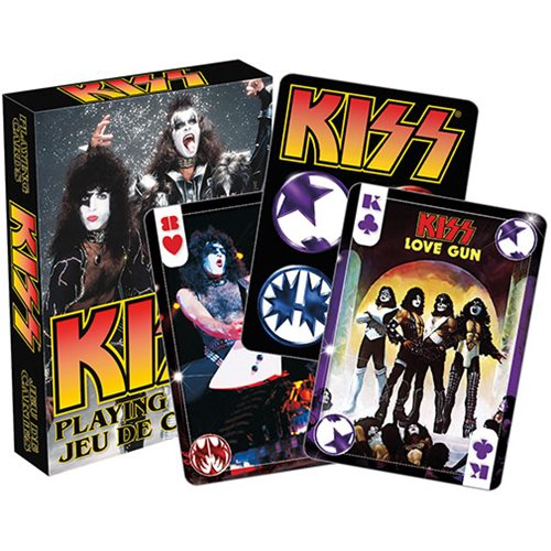 KISS Photo Playing Cards