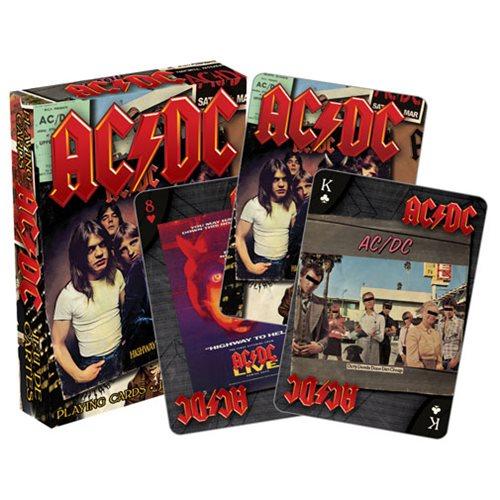 AC/DC Album Playing Cards