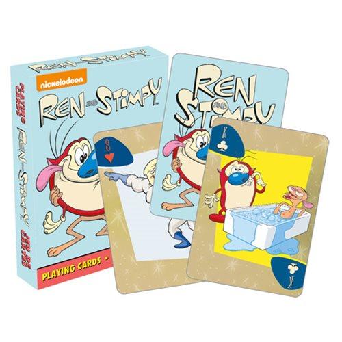 Ren & Stimpy Cartoon Playing Cards