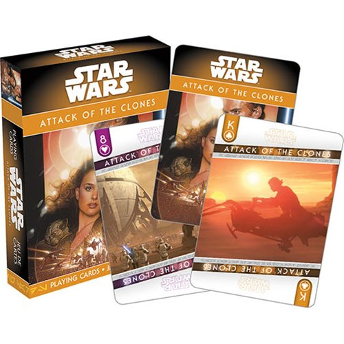 Star Wars: Episode II – Attack of the Clones Playing Cards