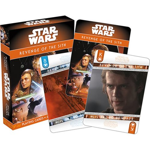 Star Wars: Episode III – Revenge of the Sith Playing Cards