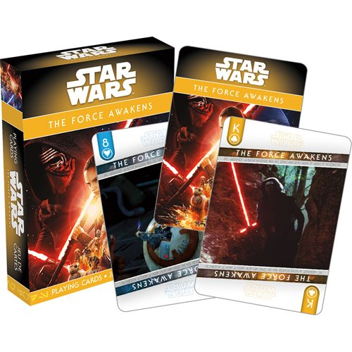 Star Wars: Episode VII – The Force Awakens Playing Cards