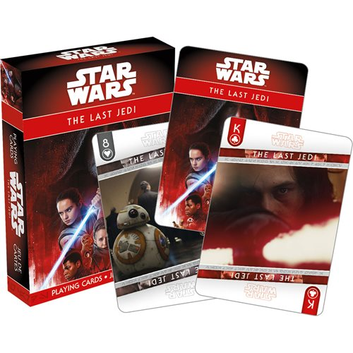 Star Wars: Episode VIII – The Last Jedi Playing Cards