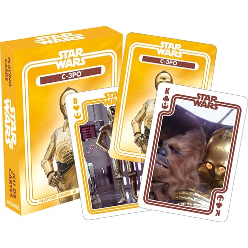 Star Wars C3-PO Playing Cards