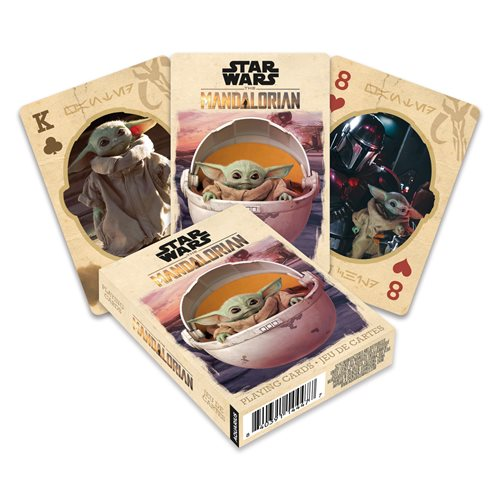 Star Wars: The Mandalorian The Child Playing Cards