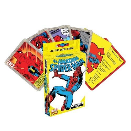 Spider-Man Playing Card Game