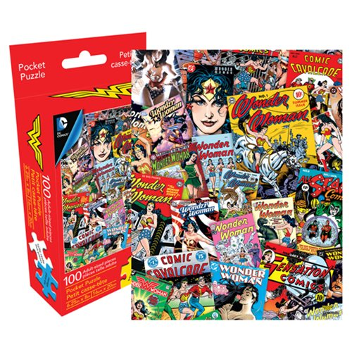 Wonder Woman 100-Piece Pocket Puzzle