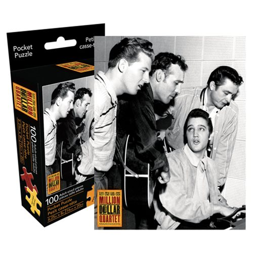 Million Dollar Quartet 100-Piece Pocket Puzzle