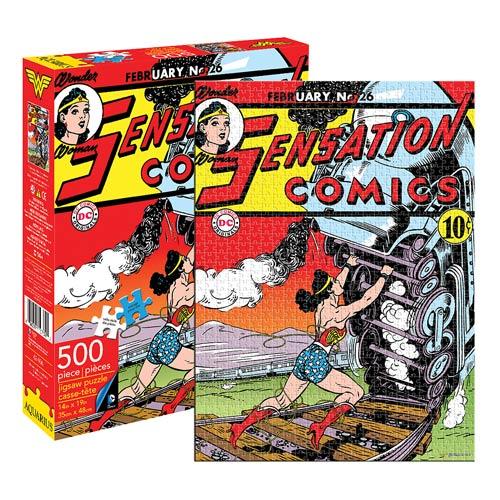 Wonder Woman Comic Cover 500-Piece Puzzle