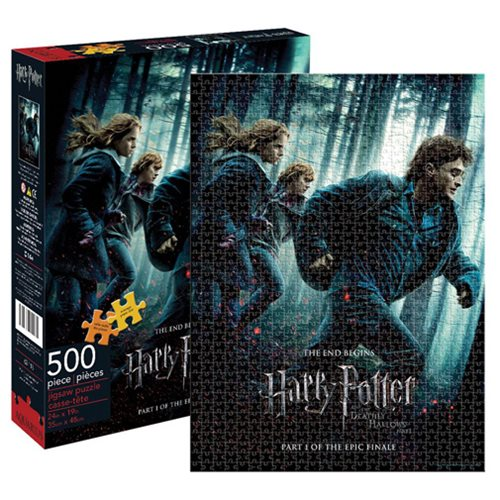 Harry Potter and the Deathly Hallows Part 1 500 Piece Puzzle
