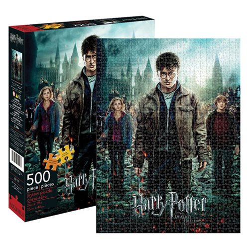Harry Potter and the Deathly Hallows Part 2 500 Piece Puzzle