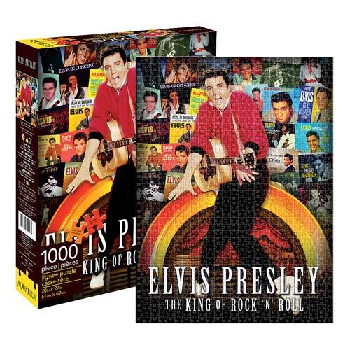 Elvis Presley Albums 1,000-Piece Puzzle