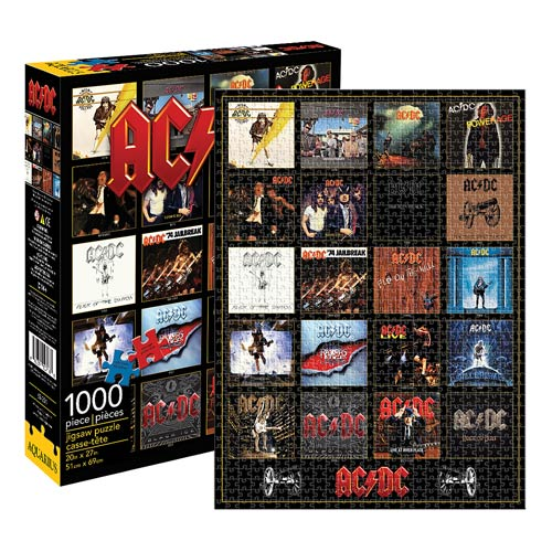 AC/DC Discography 1,000-Piece Puzzle