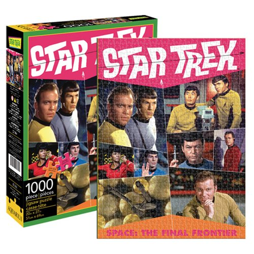 Star Trek Retro 1,000-Piece Puzzle