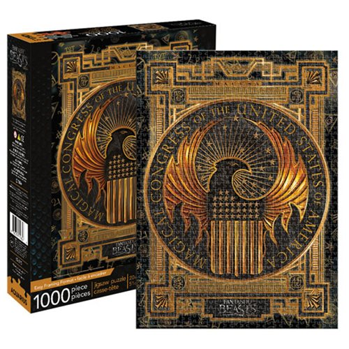 Fantastic Beasts and Where to Find Them MACUSA 1,000-Piece Puzzle