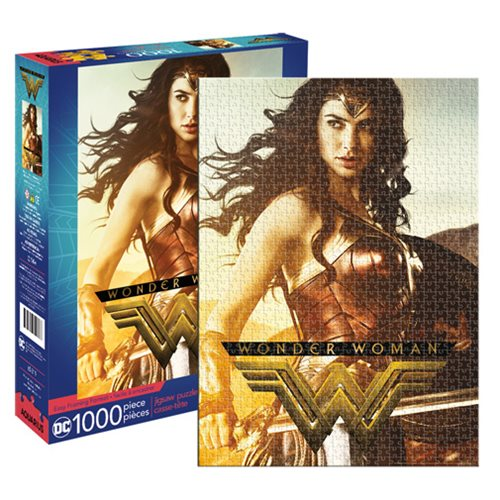 Wonder Woman Movie 1,000-Piece Puzzle