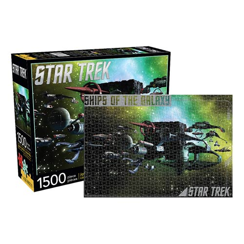 Star Trek Enemy Ships of the Galaxy 1,500-Piece Puzzle