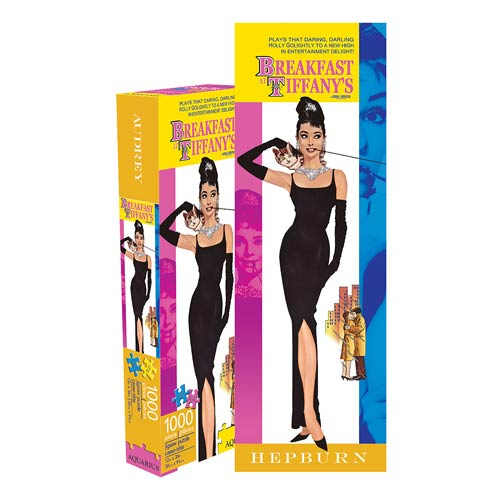 Breakfast at Tiffany's 1,000-Piece Slim Puzzle