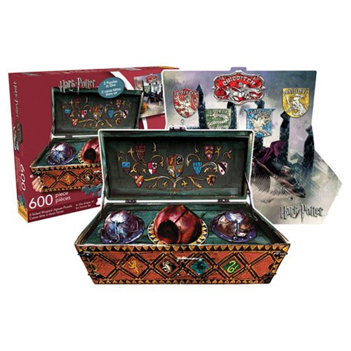 harry potter quidditch set 600 piece 2 sided puzzle. Black Bedroom Furniture Sets. Home Design Ideas
