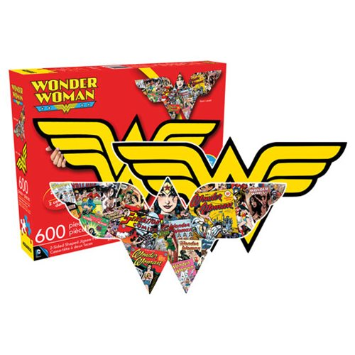 Wonder Woman 2-Sided 600-Piece Puzzle
