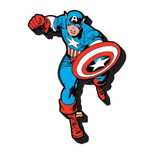 Captain America Funky Chunky Magnet