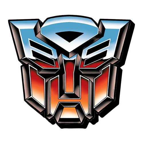 Transformers Autobots Symbol Funky Chunky Magnet