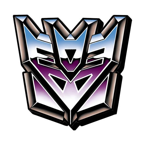 Transformers Decepticons Symbol Funky Chunky Magnet