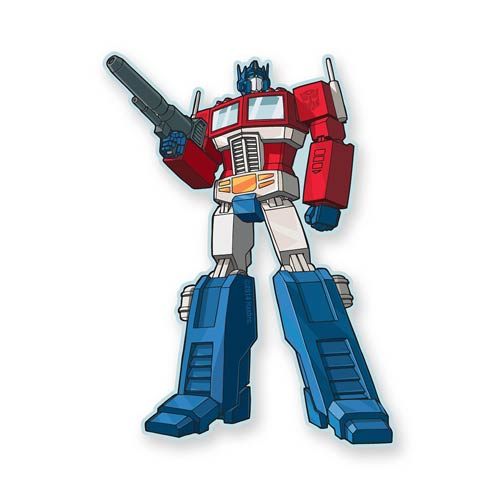 Transformers Optimus Prime Funky Chunky Magnet