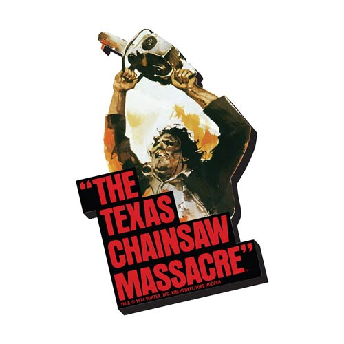 Texas Chainsaw Massacre Art Funky Chunky Magnet